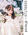 春のビューティーイメージ 47176830