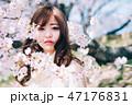春のビューティーイメージ 47176831