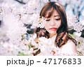 春のビューティーイメージ 47176833