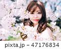 春のビューティーイメージ 47176834
