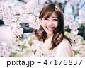 春のビューティーイメージ 47176837