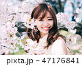 春のビューティーイメージ 47176841