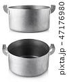 金属 銀色 鍋の写真 47176980