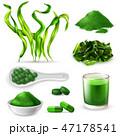 組み合わせ グリーン 緑色のイラスト 47178541