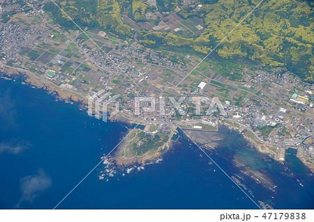 上空から見た野島埼 47179838