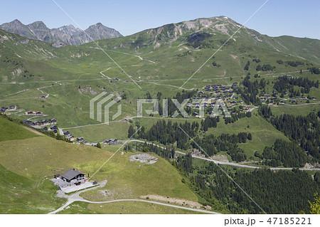 View from Croix de Culet mountain (Switzerland) 47185221