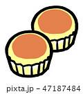 蒸しパン1 47187484
