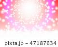 背景 キラキラ 輝きのイラスト 47187634