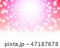 キラキラ 光 輝きのイラスト 47187678