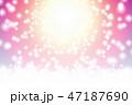 キラキラ 光 背景のイラスト 47187690