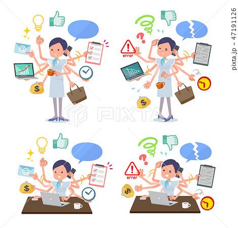 flat type Beauty staff women_mulch task Office 47191126