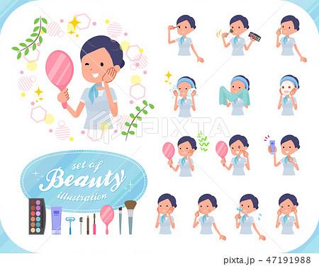 flat type Beauty staff women_beauty 47191988