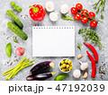 ノート ノートブック 野菜の写真 47192039