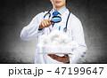 腕 ブレーンストーミング 医師の写真 47199647