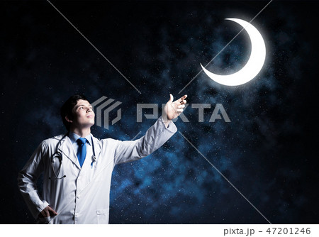 Confident medical industry employee 47201246
