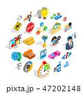アイコン セット ビジネスのイラスト 47202148