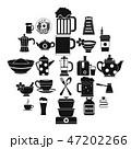 道具 アイコン 黒色のイラスト 47202266