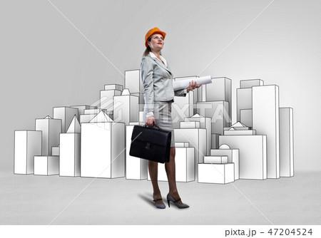 Woman architect 47204524