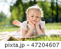 女の子 女児 女子の写真 47204607