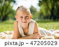 女の子 女児 女子の写真 47205029