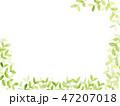 新緑 水彩 背景イラスト 47207018