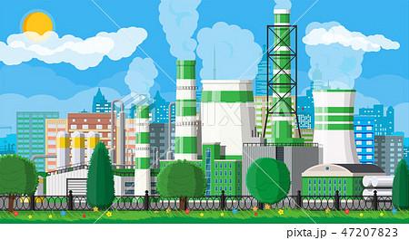 Green eco plant 47207823