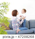 赤ちゃん 子育て 47208268
