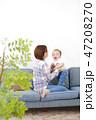 赤ちゃん 子育て 47208270