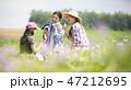 女性 農業 休憩 47212695