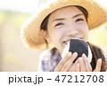 女性 若い女性 アジア人の写真 47212708
