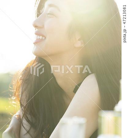 女性 ビューティーイメージ 47213081