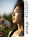 人物 ポートレート 女性の写真 47213157