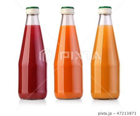 juice bottle isolated on white background 47213871