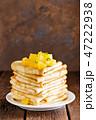 料理 洋菓子 ペストリーの写真 47222938