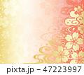 桜 和風 和のイラスト 47223997