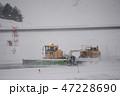青森空港の除雪作業 47228690