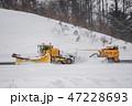 青森空港の除雪作業 47228693
