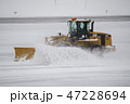 青森空港の除雪作業 47228694