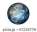 地球 惑星 CGのイラスト 47230776
