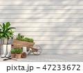 カート 台車 荷車のイラスト 47233672