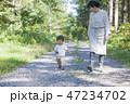 散歩 親子 子供の写真 47234702