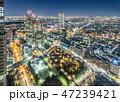 夜景 新宿 都会の写真 47239421