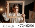 画伯 芸術家 アーティストの写真 47246250
