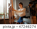 画伯 芸術家 アーティストの写真 47246274