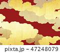 和 金色 背景のイラスト 47248079