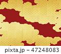 和 金色 背景のイラスト 47248083