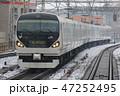 E257系 列車 電車の写真 47252495