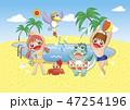 夏休み 47254196