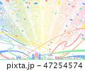 テーマパーク 花火 紙テープ 紙吹雪 47254574