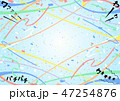 歓声 テープ 紙吹雪 背景 47254876
